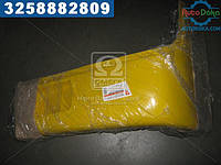 Буфер бампера Богдан 092 передний левый (клык) желтый RAL 1023 (Дорожная Карта)  А092-2803033-1023ДК