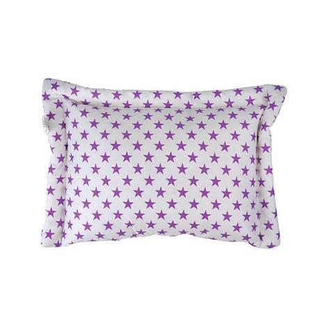 Подушка детская CОВЫ 40х60см Сатин Хлопок 100% силиконовые  шарики  Руно (309.137Сови), фото 2