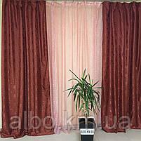 Шторы с тюлем в зал прихожую комнату, портьеры и гардины в детской комнате спальне, шторы для кухни зала, фото 5