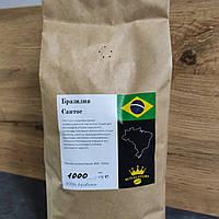 Кофе зерновой Brasil Santos 1кг арабика