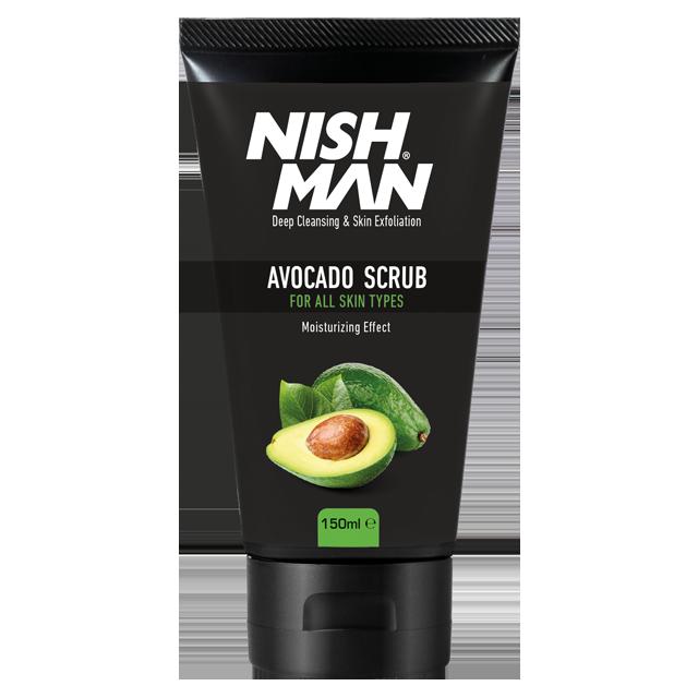 Nishman скраб для лица Авокадо 150мл