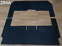 Водо- и грязезащитные коврики в салон Mercedes V-Class W447 '14- 7 мест, с вырезом под стол из экологически чистого материала EVA