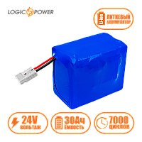 Аккумулятор для лодки  железо-фосфатный LP LiFePo-4 24V - 30 Ah