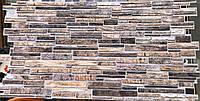 Панели ПВХ Камень «Пластушка коричневая» Регул, фото 1