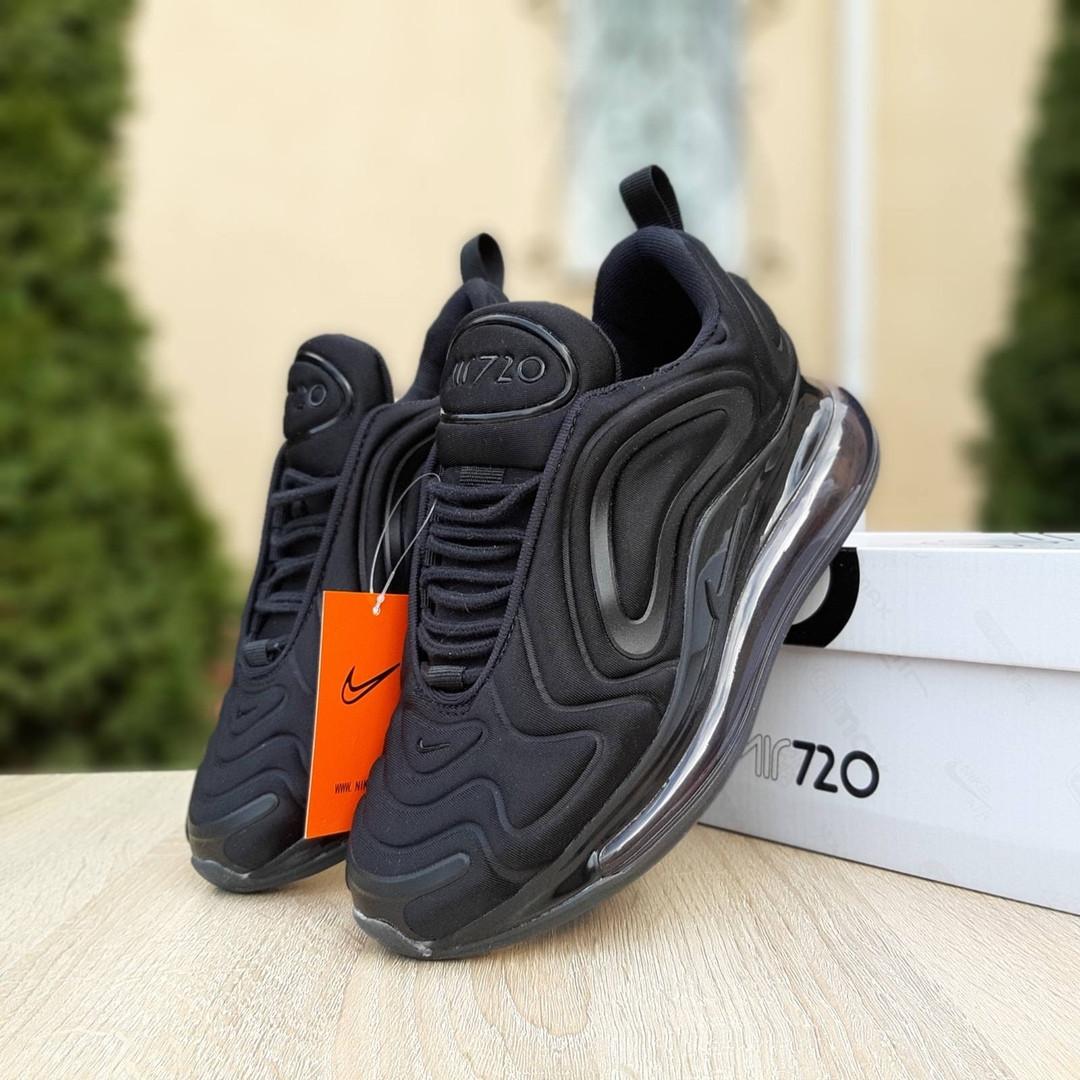 Женские кроссовки Nike Air Max 720 (черные)