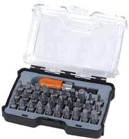 Набор бит для шуруповерта с магнитным держателем 31 шт., Tactix