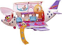 Оригинальный детский игровой набор Самолет для зверюшек Littlest Pet Shop Pet Jet B1242