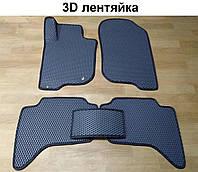 Водо - і брудозахисні килимки на Mitsubishi L200 / Triton '05-15 з екологічно чистого матеріалу EVA