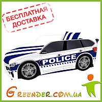 Детская кровать машина Police серии Premium (комплект входит в стоимость, доставка бесплатная!)
