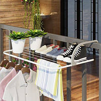 Подвесная сушилка для белья Umbrella, сушилка для белья на батарею, органайзер для обуви и белья