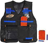 Жилет агента оригинал Нерф с магазинами и стрелами Nerf Tactical Vest N-Strike Elite Series A0250