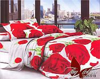 Комплект постельного белья двухспальный XHY519 ТМ TAG 2-спальный, постельное белье двухспальное