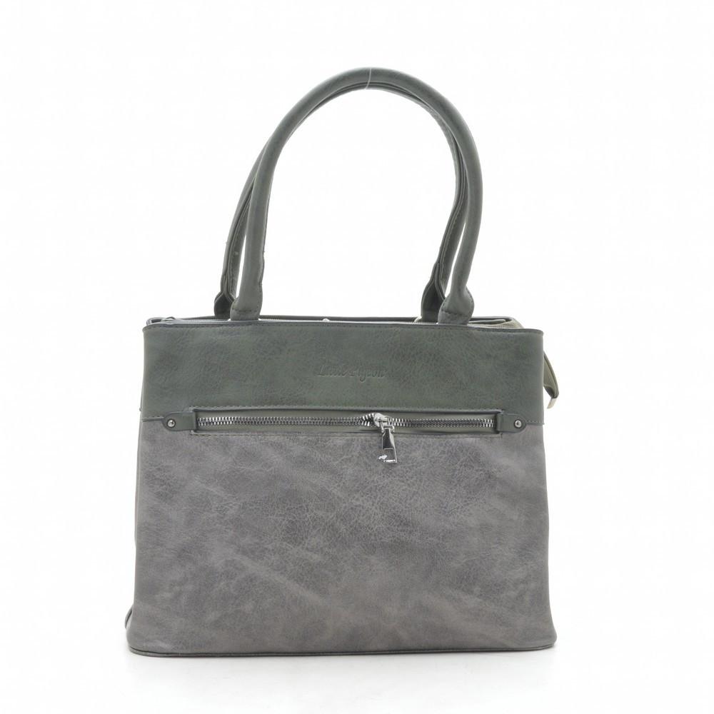 Женская сумка F1123 grey