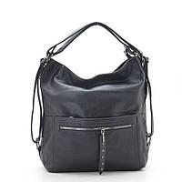 Женская сумка-рюкзак F-1055 black, фото 1