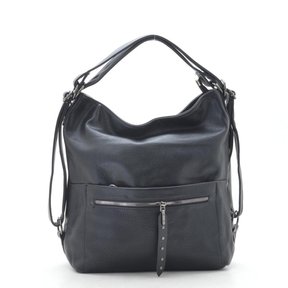 Женская сумка-рюкзак F-1055 black