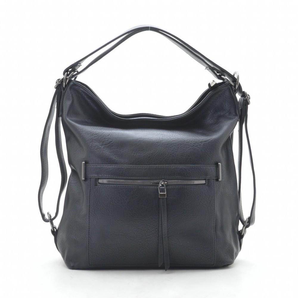 Жіноча сумка-рюкзак F1054 black