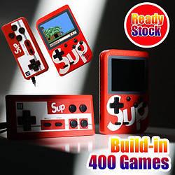 Портативная приставка с джойстиком консоль Retro FC Game Box Sup dendy 400 in 1
