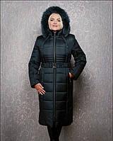 Теплое зимнее пальто Милана макси, р 44-72