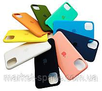 """Чехол силиконовый для iPhone 11 Pro. Apple Silicone Case, цвет """"Spearmint"""" (с открытым низом), фото 2"""