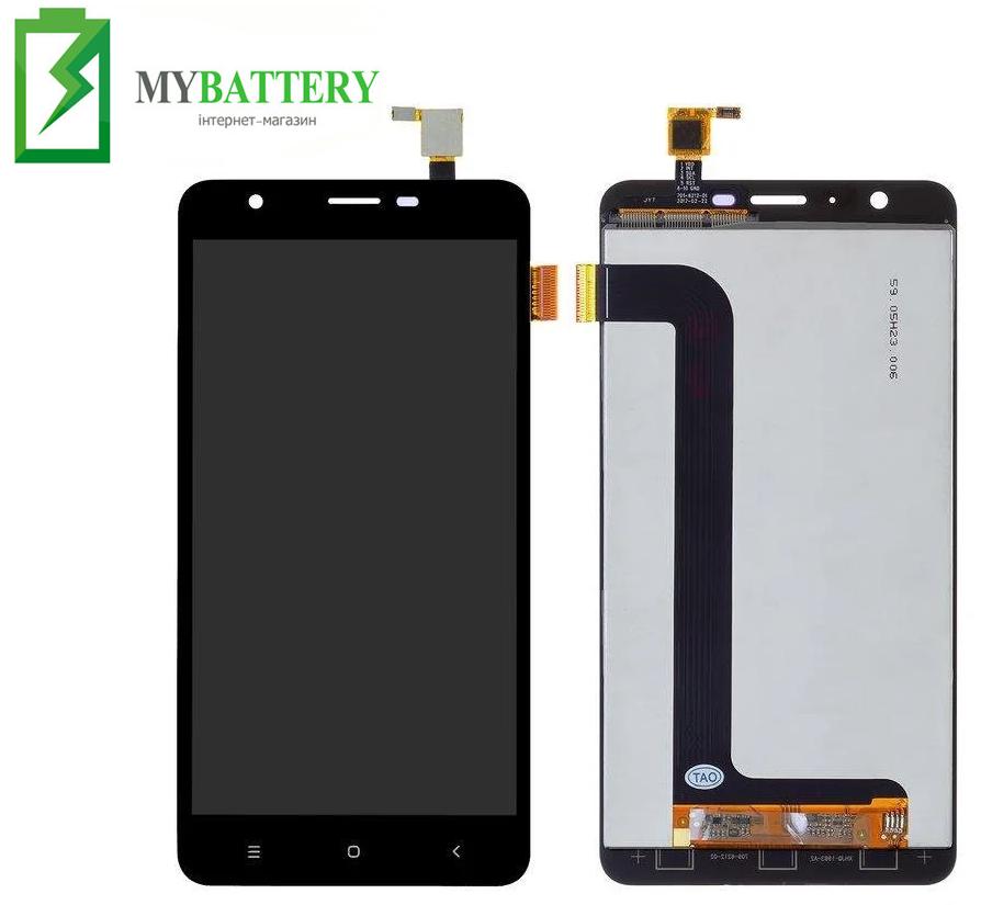 Дисплей (LCD) Oukitel U15 Pro с сенсором черный