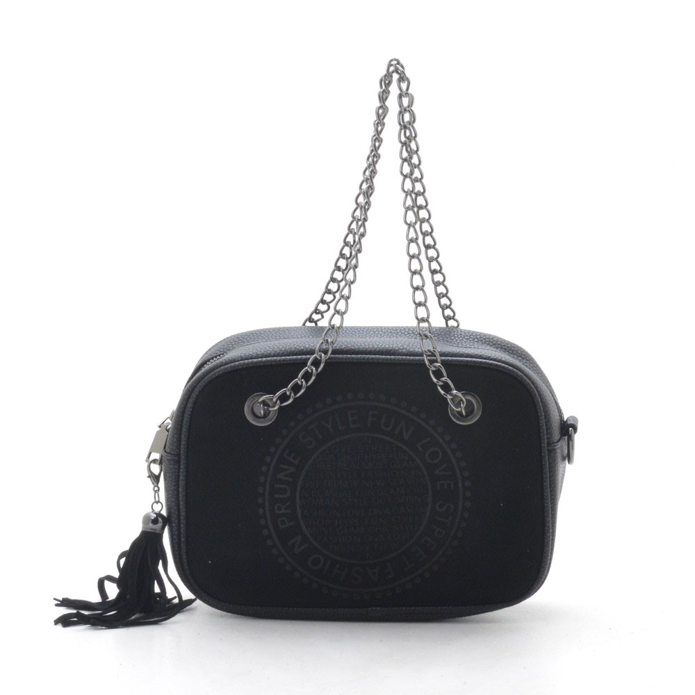 Клатч жіночий 198-1 black (чорний)