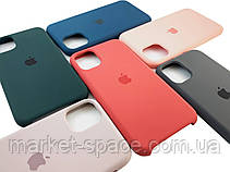 """Чехол силиконовый для iPhone 11 Pro. Apple Silicone Case, цвет """"New apricot"""" (с открытым низом), фото 2"""
