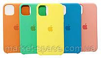 """Чехол силиконовый для iPhone 11 Pro. Apple Silicone Case, цвет """"New apricot"""" (с открытым низом), фото 3"""