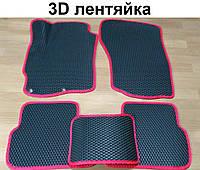 Водо - і брудозахисні килимки на Mitsubishi Lancer X (10), Evo X, Sb '07 - з екологічно чистого матеріалу EVA