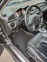 Водо - і брудозахисні килимки на Mitsubishi Outlander '03-07 з екологічно чистого матеріалу EVA