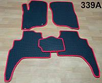 Водо - і брудозахисні килимки на Mitsubishi Pajero Sport '16 - з екологічно чистого матеріалу EVA