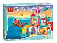 Конструктор детский Lari Sea Maiden Морской замок Ариэль, 6+