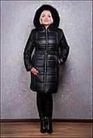 Теплое зимнее пальто Милана евро, р 44-72, разные цвета