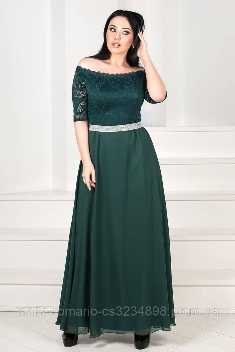 Вечернее платье для пышных красавиц