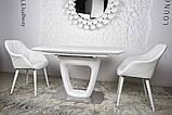 Обідній стіл OTTAWA (Оттава) 140/180 см білий матовий Nicolas (безкоштовна адресна доставка), фото 8