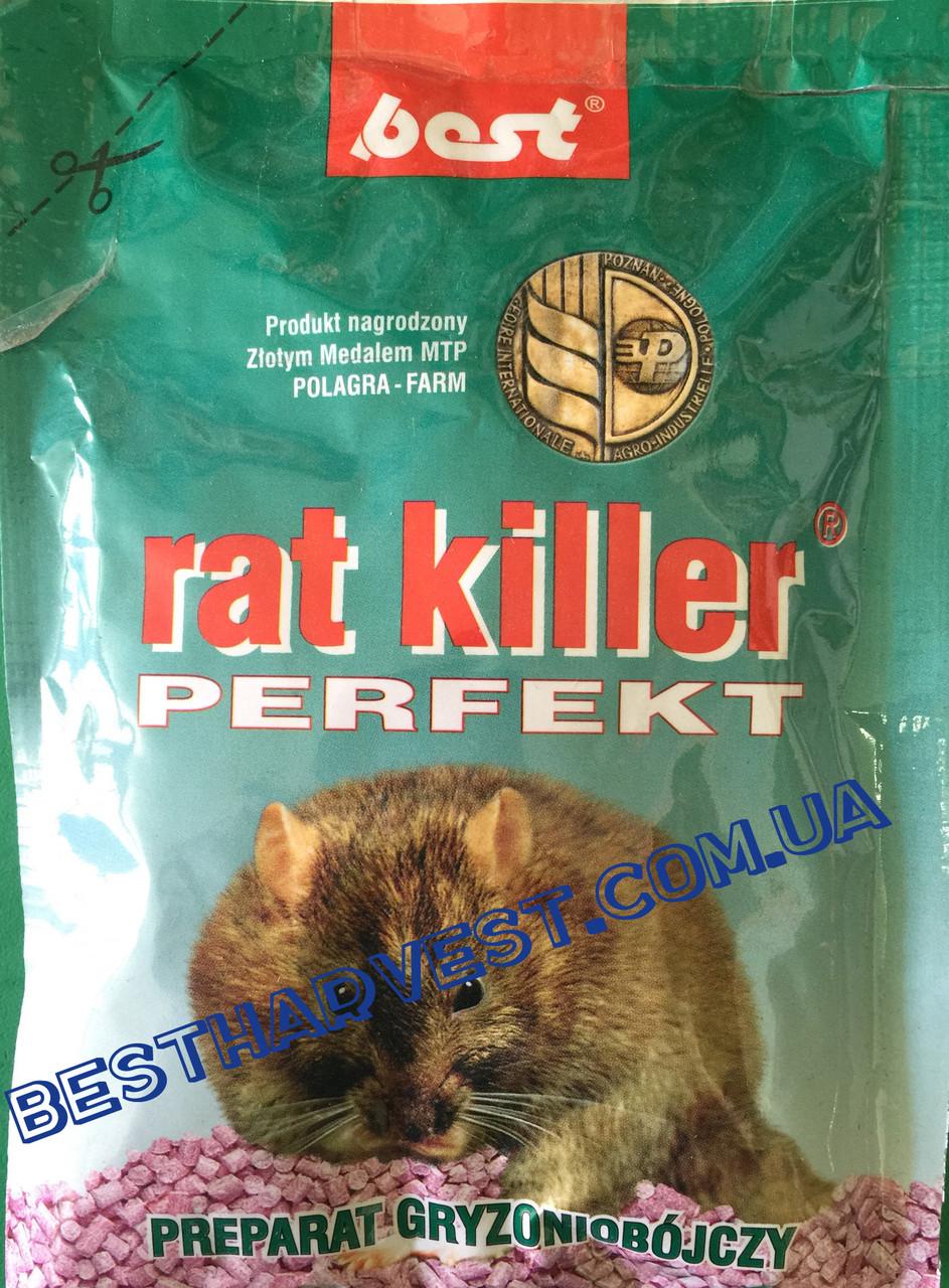 Rat Killer (Рат Киллер) Perfect гранулы от крыс 90 г оригинал