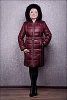 Теплое зимнее пальто Милана евро, р 44-72, разные цвета, фото 1