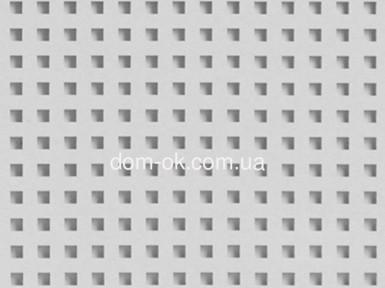 Звукопоглощающий гипсокартон Acoustic ППГЗ-С2-12/25, квадратная перфорация