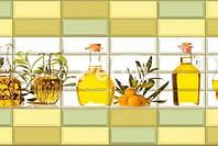 Пластиковая Декоративная Панель ПВХ Регул Ароматы Масла 957*477 мм