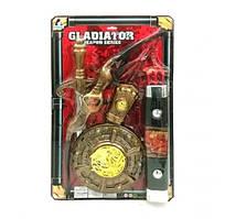 """Набор оружия """"Гладиатор"""" (планшет) 6926B р.38 * 4 * 62,5см. (Масс)"""