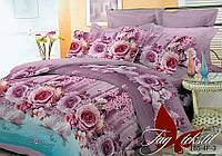 Комплект постельного белья двухспальный BR003 ТМ TAG 2-спальный, постельное белье двухспальное