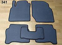 Водо- и грязезащитные коврики на Nissan Almera '00-13 из экологически чистого материала EVA
