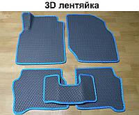 Водо- и грязезащитные коврики на Nissan Almera '00-06 из экологически чистого материала EVA