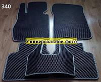Водо - і брудозахисні килимки на Nissan Almera '13 - з екологічно чистого матеріалу EVA
