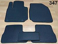 Водо - і брудозахисні килимки на Nissan Micra '03-10 з екологічно чистого матеріалу EVA