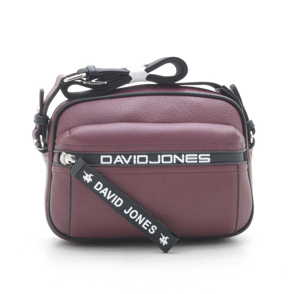 Клатч женский David Jones 5989-1T/6166-2T d. bordeaux