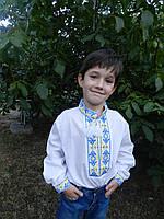 """Вышиванка для мальчика """" Украина """""""