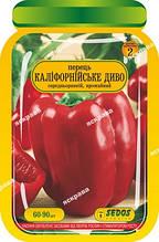 Перец Калифорнийское Чудо 60-90 шт. дражированные семена Яскрава