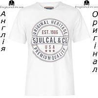 Футболка мужская SoulCal из Англии - для прогулок