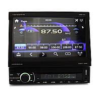 Автомагнитола с выдвижным экраном, Bluetooth Shuttle SDMN-7070 Black/Multicolor