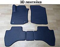 Водо- и грязезащитные коврики на Peugeot 107 '09-14 из экологически чистого материала EVA